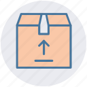 archive, box, carton, delivery, parcel, product icon