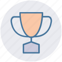 award, cup, solution, trophy, winner, won