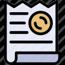 invoice, payment, bill, receipt