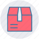 delivery box, delivery cardboard box, delivery package, package icon