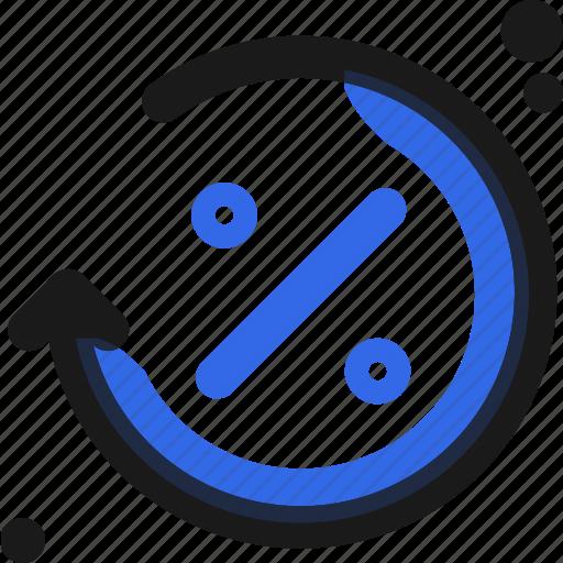 calculate, divide, reload icon