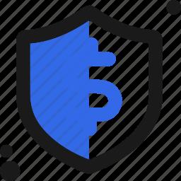buy, dollar, safe, secure, shield, transaction icon