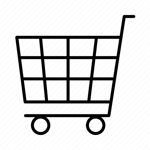 cart, digital, ecommerce, interface, media, online, website icon