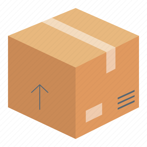 package, product box, shopping icon