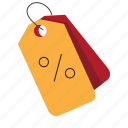discount, shopping, tag icon