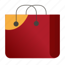 bag, package, paper bag, shopping, shopping bag, store icon icon