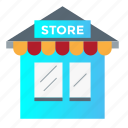 shopping, store icon