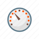 clock, counter, dashboard, index, indicator, meter, ratio icon
