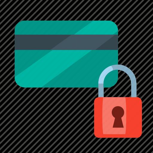card blocked, payment, payment blocked, payment withheld, secured, secured card, secured payment icon