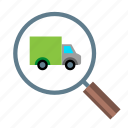 numbers, on the way, package on the way, package tracking, shipment, shipment tracking, tracking icon