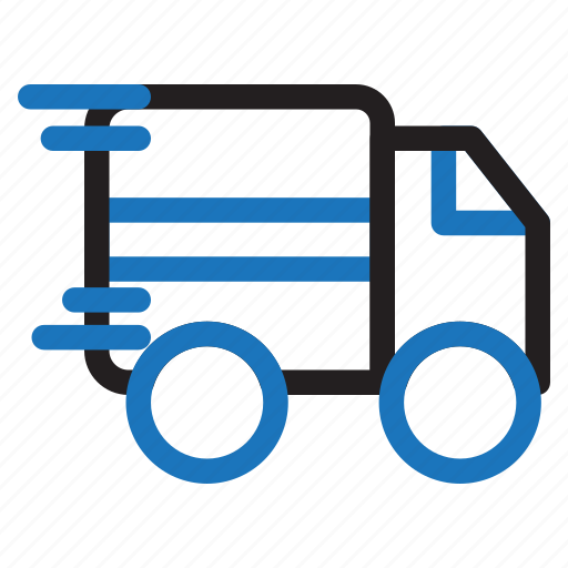 car, car box, delivery, ecommerce, fast, shipping, shop icon