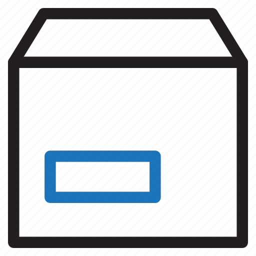 box, delivery, ecommerce, packaging, shipping, shop icon