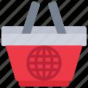 basket, ecommerce, internet, online, shopping