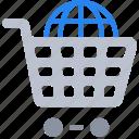 ecommerce, internet, shopping, trolly