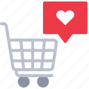 cart, ecommerce, media, shopping, social, trolly icon