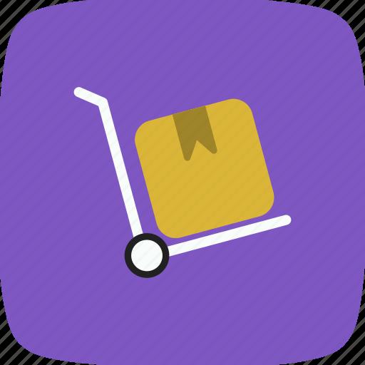 breifcase, retail, trolley icon