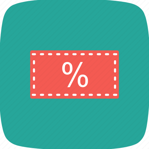 discount, offer, percent tag, tag icon