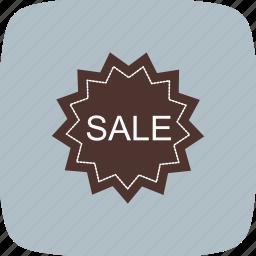 badge, label, sale, sticker icon