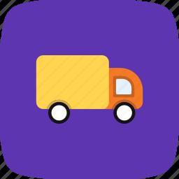 cargo, logistic, truck, van icon