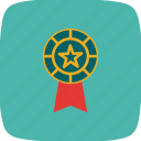 award, award badge, badge, ribbon icon