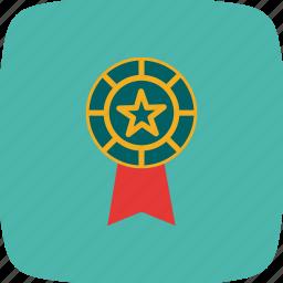 award, price, prize, ribbons, seal, winner icon