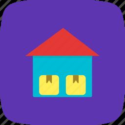 box, crate, storage unit, warehouse icon