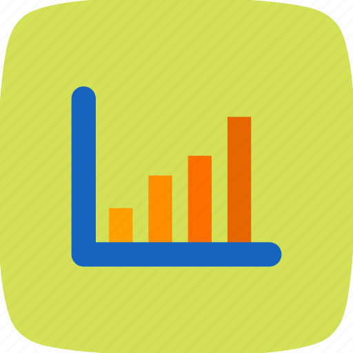 bar chart, graph, statistic icon