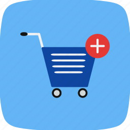 add to cart, cart, online shopping, trolley icon