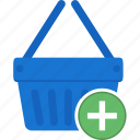 basket, business, cart, ecommerce, online, shopping icon