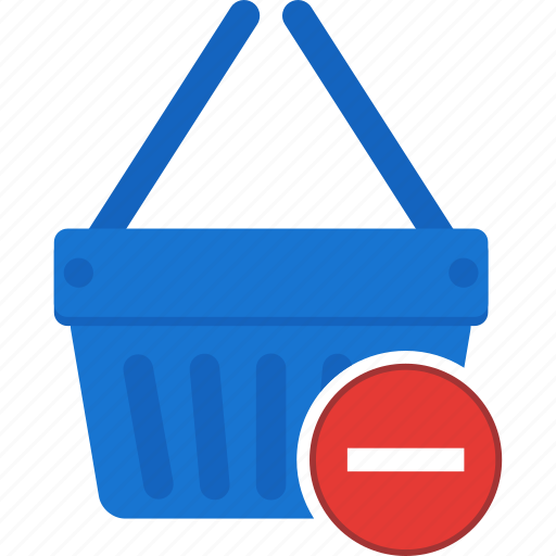 basket, cart, ecommerce, remove, shopping, trash icon