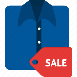 cloth, discount, ecommerce, goods, price, sale, shopping icon