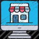 computer, ecommerce, online, shop, store
