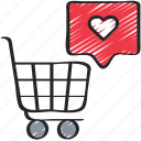 cart, ecommerce, media, shopping, social, trolly