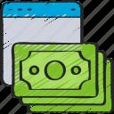 cash, ecommerce, money, online, shopping, spend