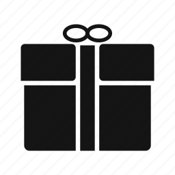 gift, gift box, parcel icon