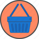 basket, buy, cart, ecommerce, online, shop, shopping icon