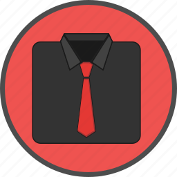 business, buy, cloth, ecommerce, goods, tie, wearing icon