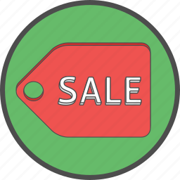 discount, ecommerce, label, payment, price, sale, tag icon