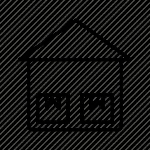 box, storage unit, warehouse icon