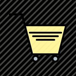 add, buy, cart, retail, shop, shopping, supermarket icon