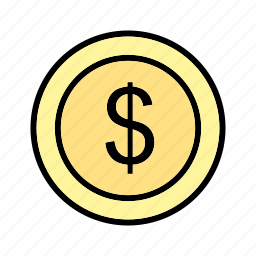 cash, dollar, funds, money, save, sign, tax icon