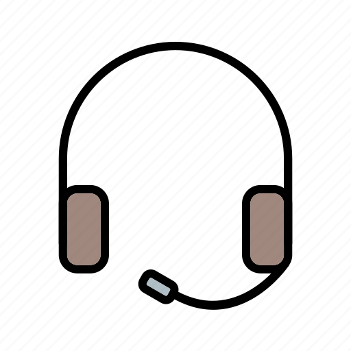 headphone, headphones, headset, music icon