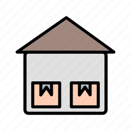 box, storage unit, warehouse icon