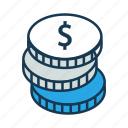 dollar, pay amount, pay cash, payment, shopping icon