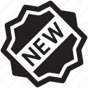 sticker, new, badge
