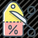 coupon, discount, percent, shopping, stock