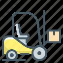 forklift, logistic, logistics, shipping, transport