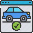 buy, car, ecommerce, online, vehicle, website icon