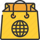 bag, ecommerce, online, purchase, shopping icon