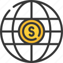 dollar, ecommerce, internet, shopping, spending icon